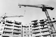 1984 Строительство МЖК.